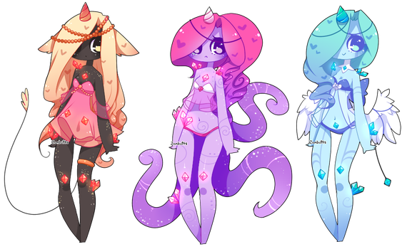 Adoptables Batch 20: CLOSED by Fawniive