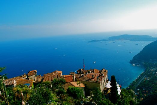 View From Eze by FullFlamePhotography