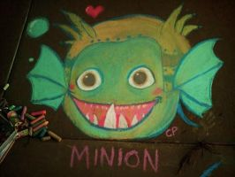 Chalk Minion by CayleyAlaina