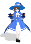 Blue Sea Wadanohara MMD Model by Awesome-Soul-ness