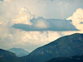 Cloudy Mountains by AtomicBrownie