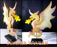 Summer Wyvern by StrayaObscura