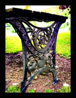 Wrought Iron Table by VisualPurple