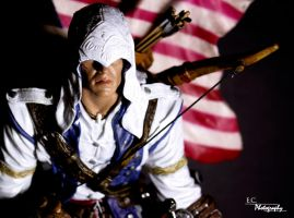 Connor Kenway AC3 by Larafan2