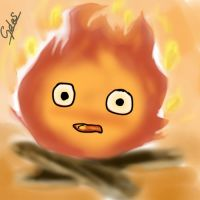 Calcifer by SayuriCobain