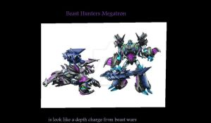 Transformers Prime Beast Hunters Megatron by ScoutImusPRIME