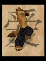 Kung Fu Dhole by gothic180