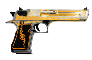 Desert Eagle .50 (Tron) Edition by PatB91