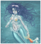 Fashion Mermaid by ChouK-RC