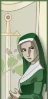 Nerit Doherty Bookmark by kaitou-kage