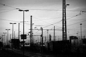 overhead electrical lines by millerneutron