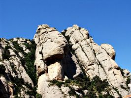 Montserrat's rocks by Ewilyn