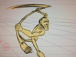 Sword Fight 1 Storyboards by cmbarnes
