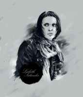 Miss Salander by albakaziy