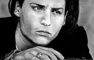 Johnny Depp by UtiliaMignano