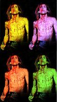 Iggy Pop Art by puke-sxe
