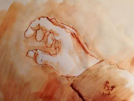 Drawing Hand by NausetSouth
