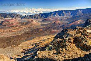 Haleakala Crater by LuKaG2906