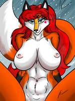 Aurora Spencer Bare by ACdraw