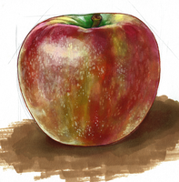 Apple by Qsy-and-Acchan