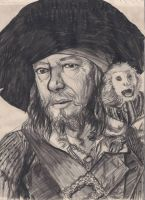 Barbossa and Jack Monkey by Swashbookler