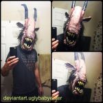 demon goat selfie by UglyBabyEater