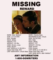 Chuck and Blair missing by atomicseasoning