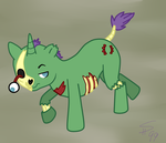 MLP Fan Pony: Rotten Bite by sugar-hype99