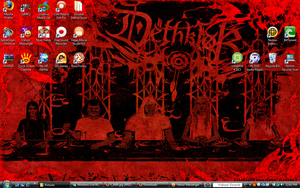 Kickass Desktop by TromboneGothGirl84