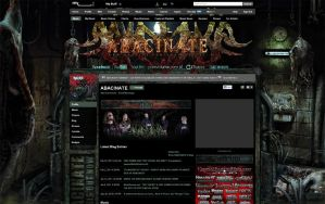 ABACINATE 3.0 MYSPACE LAYOUT by isisdesignstudio