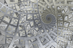 Structured Chaos I by rosshilbert