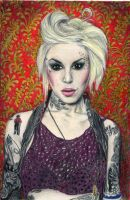 Kat Von D II by Music-Art-Addict