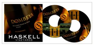 Promotional CD for Dombeya by nikiljuice