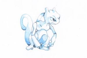 Mewtwo by superL33tII