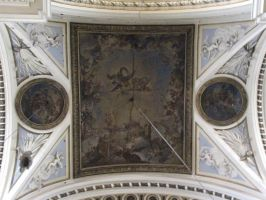 Cathedral Ceiling Painting by eillahwolf