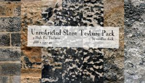 Unrestricted Stone Texture Pack by emothic-stock