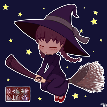 Witch Madotsuki - Yume Nikki [FanArt] by TheSilentGrey