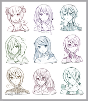 [Sketch_Request] Batch 5 by Ceviya