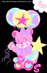 Balloon Bear by SweetiexCakes