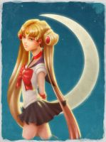 Sailor Moonface by TheAshleeH
