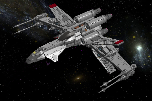 WIP - LEGO Star Wars FT-7b Clarion by Aurik-Kal-Durin