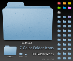 Default Leopard Folders by RocknGothAlien