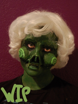 Calliope makeup test by TrueAlaso