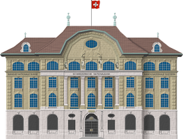 Swiss National Bank by Herbertrocha