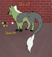 Ork Reference Sheet by Kama-ItaeteXIII