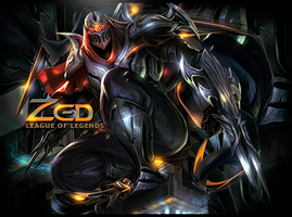 Zed League of Legends Signature by ViciousBlue