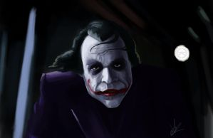 The joker by renegade21