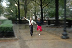 Dancing in the Rain by markdc