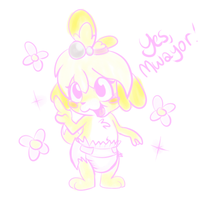 Isabelle Doodle by Hourglass-Sands