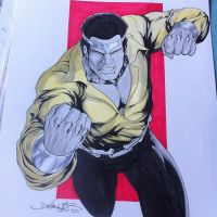 Luke Cage Commission by danielhdr